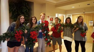 Glenwood School Decorate City Hall