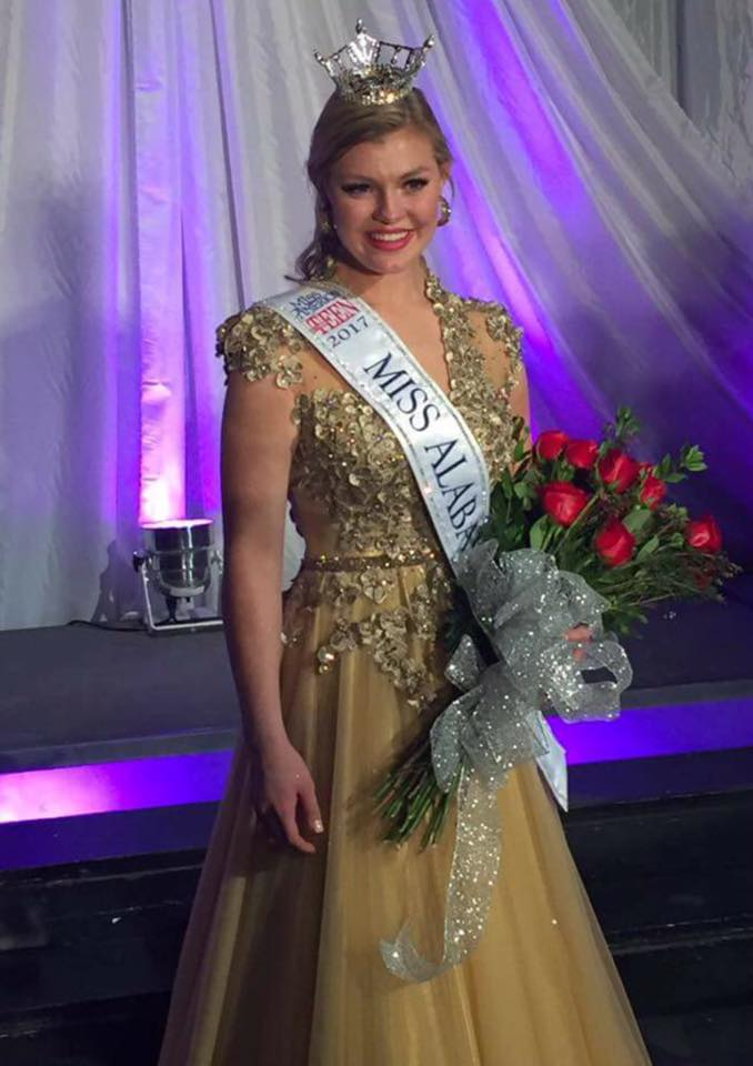 Jessica Baeder, Smiths Station's Miss Outstanding Teen