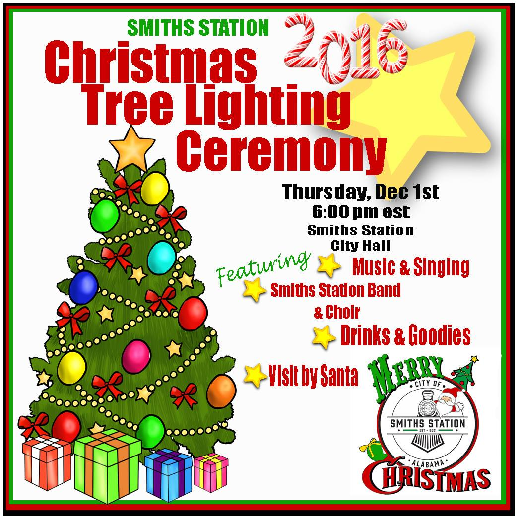 Smiths Station Christmas Tree Lighting