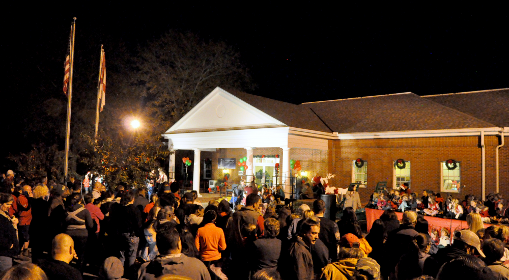 The City of Smiths Station's annual Christmas Tree Lighting Celebration.